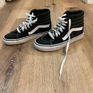 Vans ward hi kids' high top sneakers- size 4Y